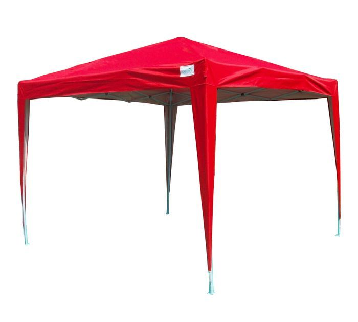 10u0027 x 10u0027 Pop Up Canopy with No Sides - Red $149.99  sc 1 st  Pinterest & 10u0027 x 10u0027 Pop Up Canopy with No Sides - Red $149.99 | Garden ...