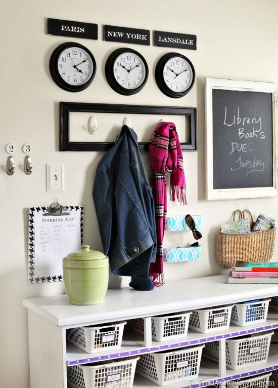 Mudroom Organizing Wall Grand Central Station Mudroom Organization Mudroom Decor Foyer Organization