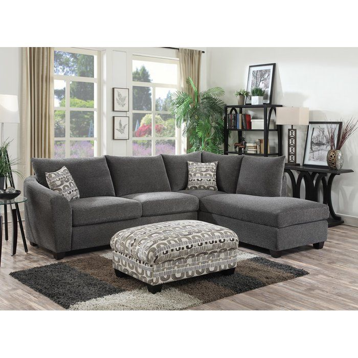 Be It A Game Day Gathering Or A Fun Family Movie Night This Stylish Sectional Is An Alluring Anchor Living Room Diy Living Room Designs Living Room Design Diy
