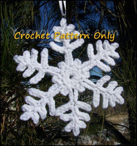Famoso Copo De Nieve Patrón De Crochet Afghan Ilustración - Ideas de ...