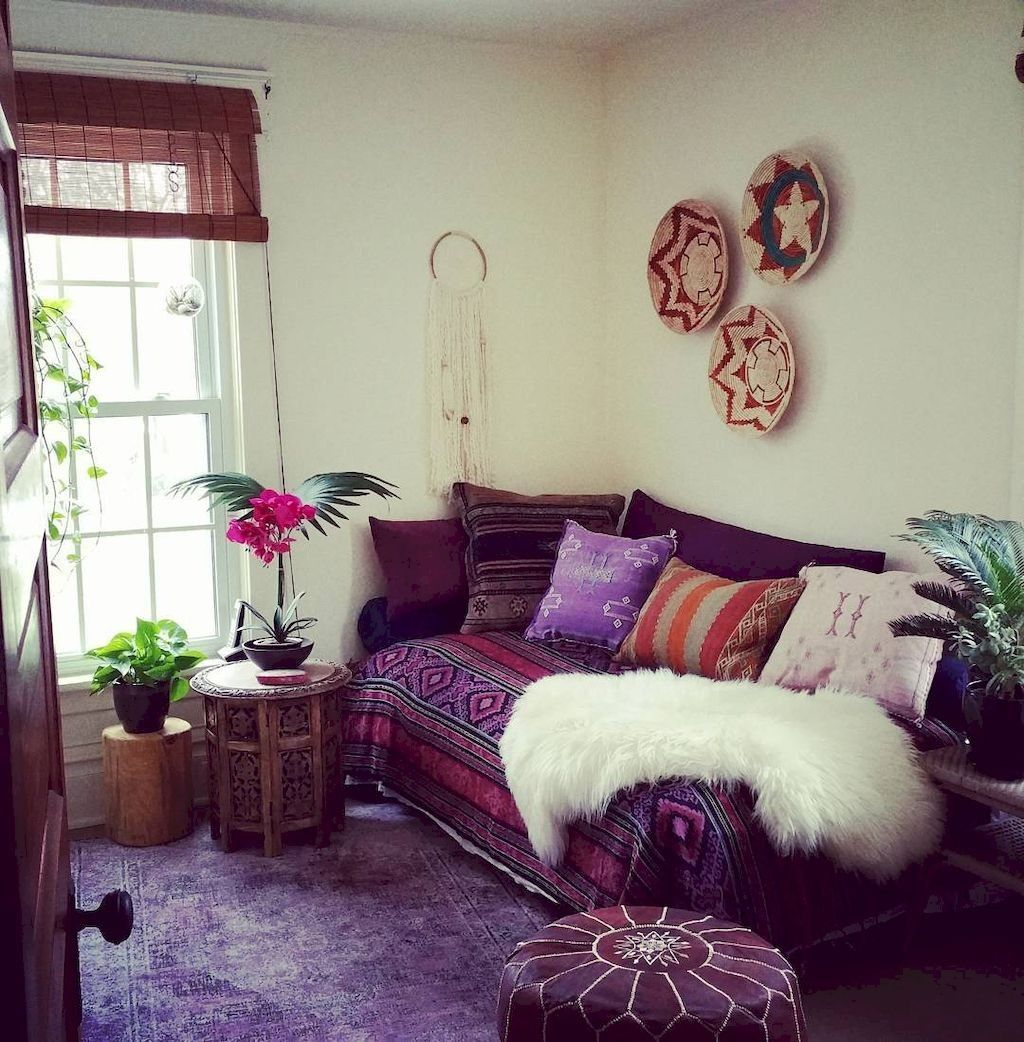 Best 47 Luxury Bohemian Living Room Ideas For Small Apartment 400 x 300