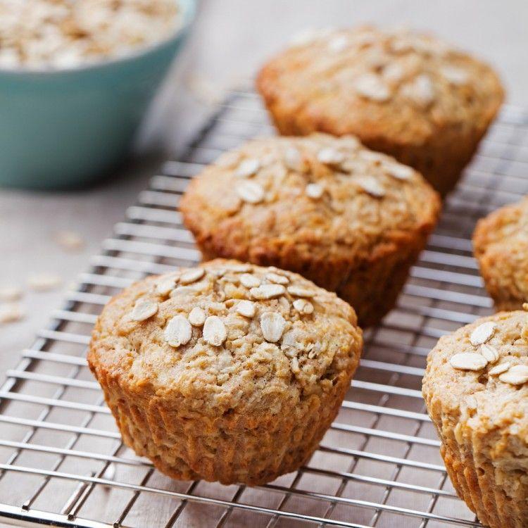 مافن الشوفان الصحي مطبخ سيدتي Recipe Baking Healthy