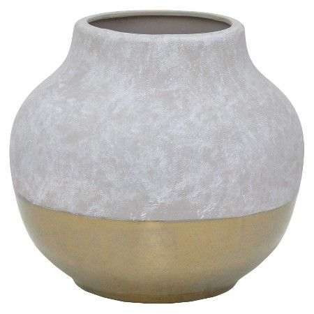 Three Hands Ceramic Vase Graygold 825 Target Kc Wedding
