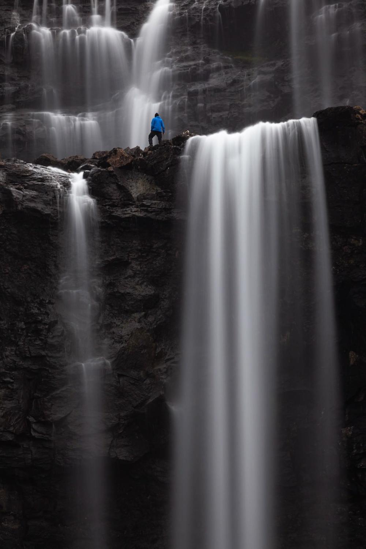 Fossa Sandavagur Faroe Islands Simply Called Fossa This Is Largest Waterfall Island Photo