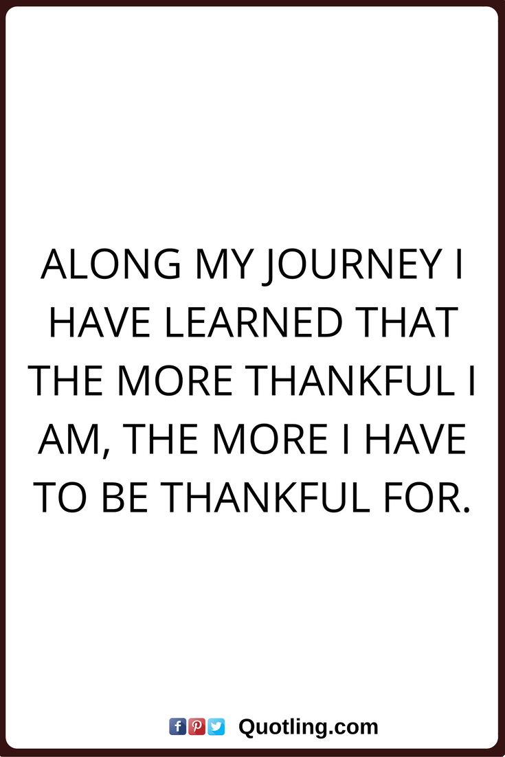 Thankful Quotes Pinterest