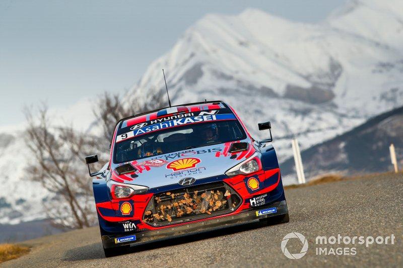 Sébastien Loeb & Daniel Elena Hyundai i20 Coupe WRC