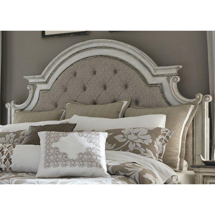 Best Abbott Upholstered Panel Headboard Liberty Furniture 640 x 480