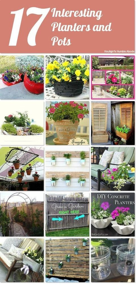 17 interesting planters and pots Idea Box by Houligirl ...