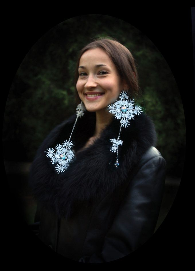 Natalya Bulba  Collection of exclusive hand-made jewellery  – Snow Queen