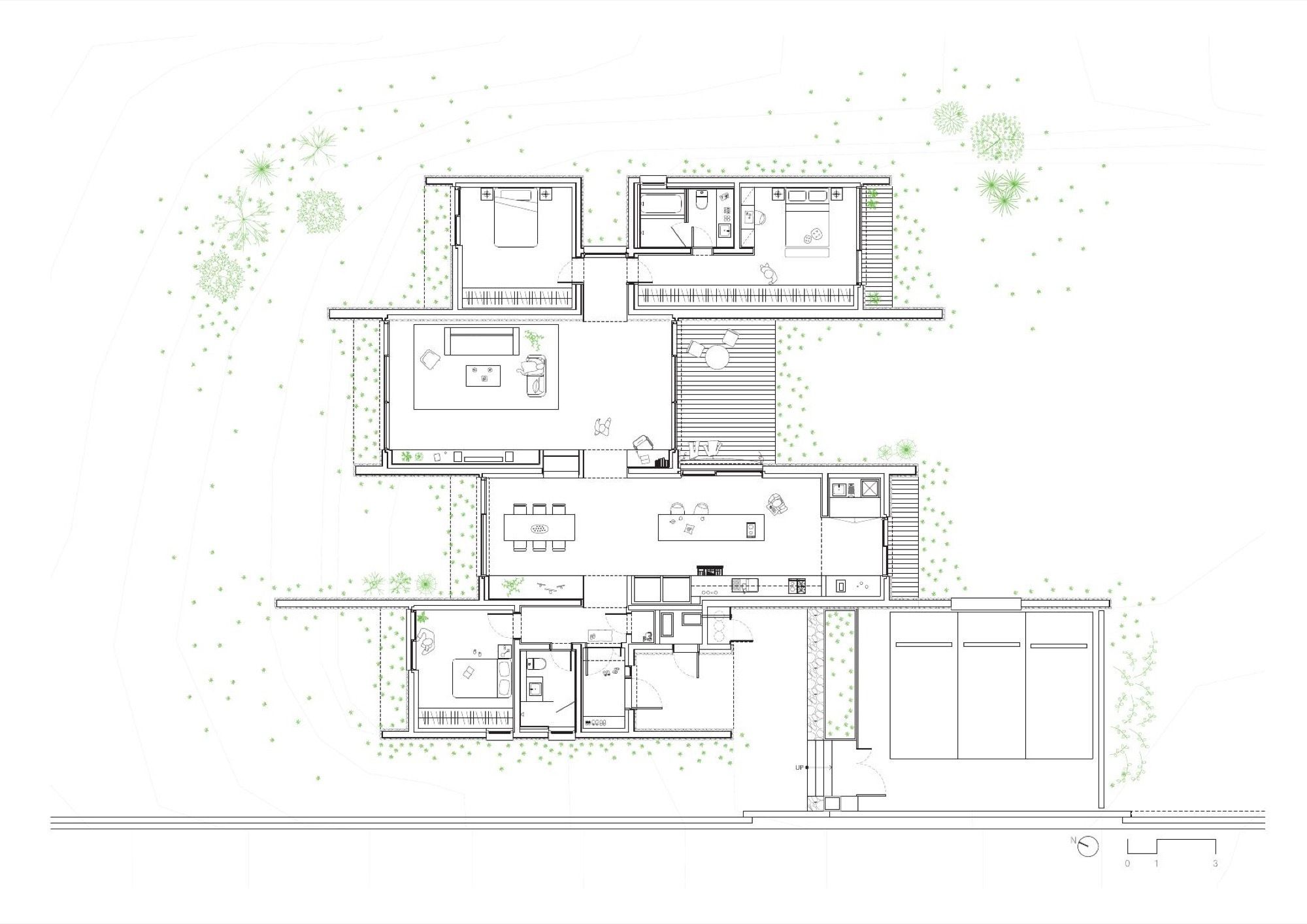 Gallery Of The Layers Obba 16 Layered Architecture Architectural House Plans Floor Plans