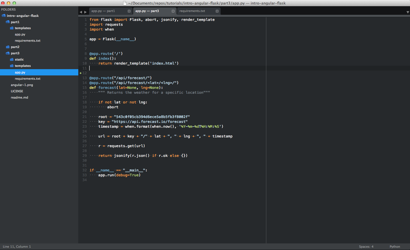 This article details how to set up Sublime Text for full