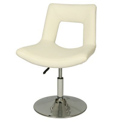 Impacterra Dublin Side Chair Side Chair Upholstery: Ivory