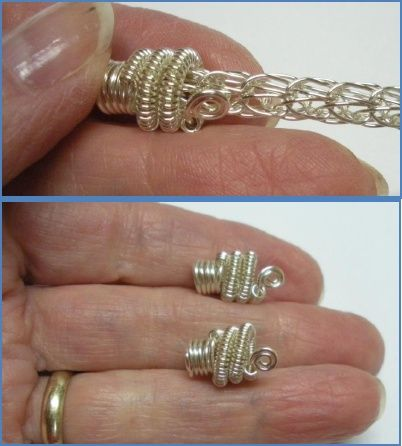 How to Make a Viking Knit Bracelet Tutorial | Jewelry - Wire ...