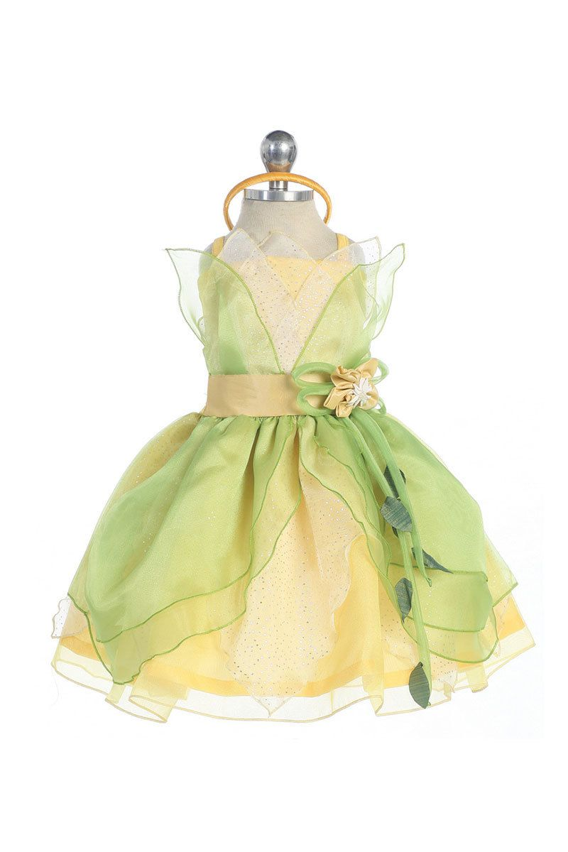Baby Tiana Inspired Dressup Costume For Infants