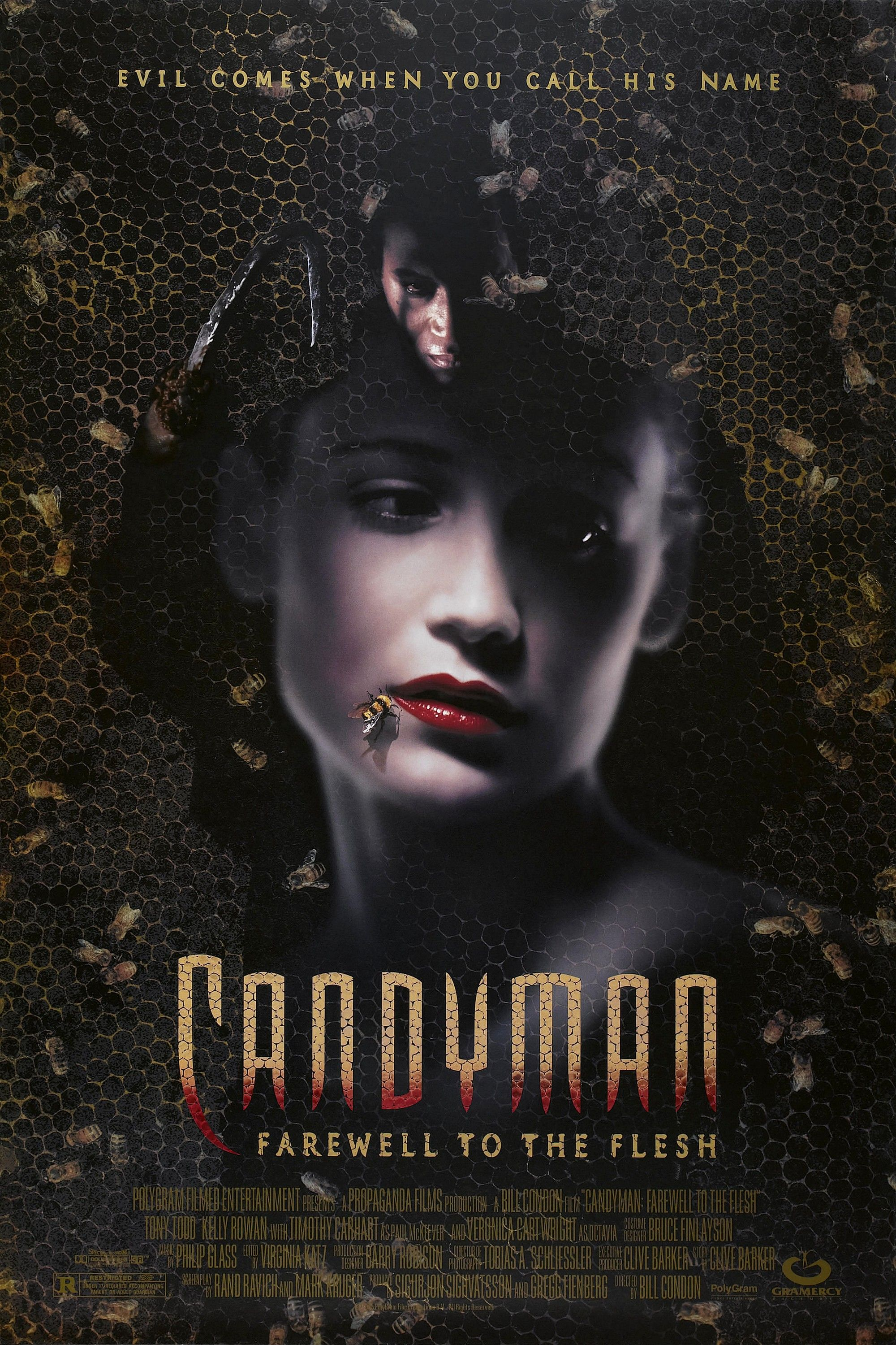 Candyman Ii Farewell To The Flesh 1995 Movie Posters Short Circuit 27x40 Poster 1986 Best Horror Movies Films
