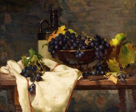 Del Gish-'Grapes'-The Art Spirit Gallery of Fine Art