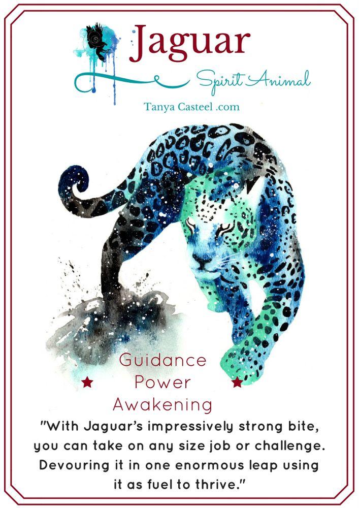Jaguar spirit animal galaxy painting and symbolism Cosmic Animal