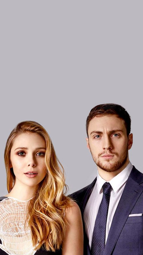 Elizabeth Olsen Aaron Taylor Johnson Costars In Godzilla And