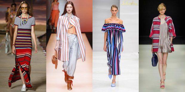 Tendenze moda primavera estate 2016, le righe