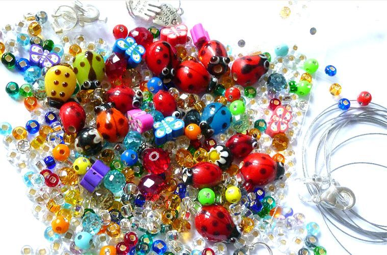 Childrens Bead Kits Necklace Making 8 99 Beadkit Co Uk