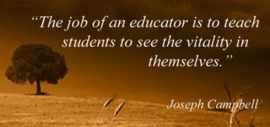 5 Inspirational quotes in honor of #TeacherAppreciationWeek