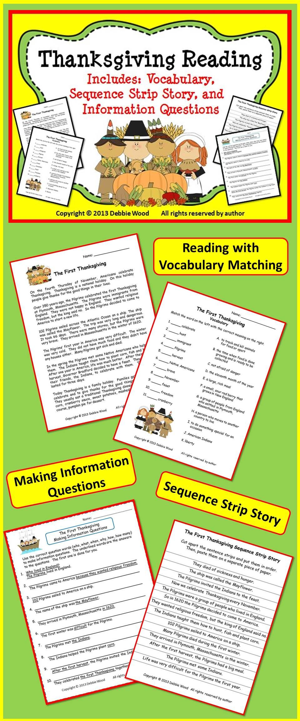 Pin By Debbie Wood On Debbie Wood Tpt Thanksgiving Readings This Or That Questions Reading Tutoring [ 2304 x 960 Pixel ]