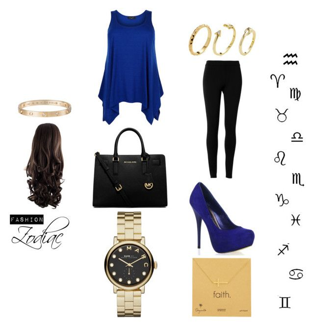 Unbenannt #26 by little-starliight on Polyvore featuring Mode, Max Studio, MICHAEL Michael Kors, Marc by Marc Jacobs, Dogeared, Pixie Grey and Cartier