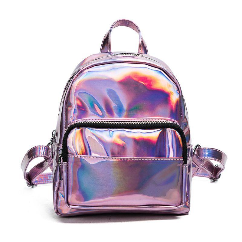 40fa122ea6c0 Купить товар Мини рюкзаки для девочек подростков Bolsa feminina Mochila  Mochilas женский рюкзак Лазерная прозрачные рюкзак