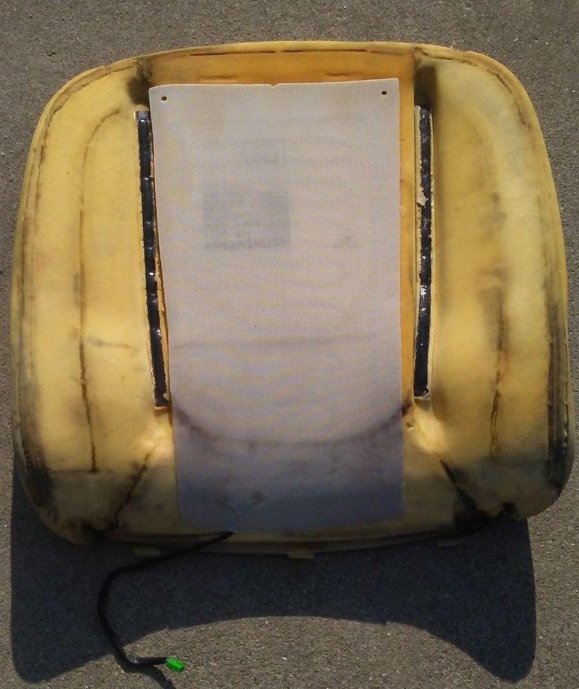 2002 2003 2004 2005 2006 Dodge Ram Driver Upper Seat Back Rest Cushion Foam Pad Dodgeram1500 Dodge Dodgeram Mopar Chrysler Used Car Parts Mopar Dodge Ram