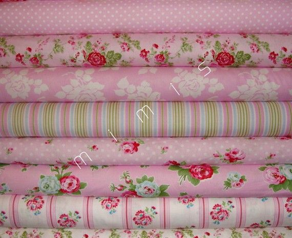 Tanya Whelan Fabric / Dots in Pink / Delilah Collection / 1 Yard ... : discontinued quilt fabric - Adamdwight.com
