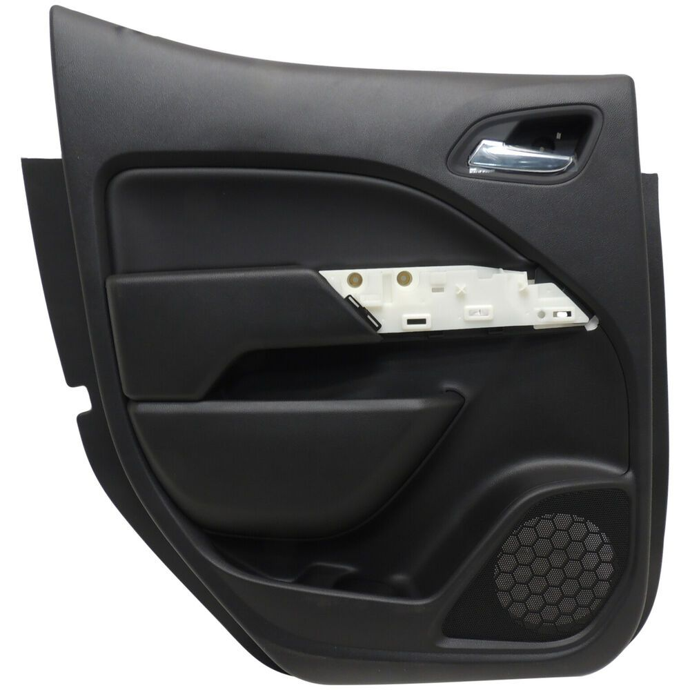 Ad Ebay 23347066 Interior Door Trim Panel Rear Lh Black Oem Gm 2015 16 Chevy Colorado Interior Door Trim Door Trims