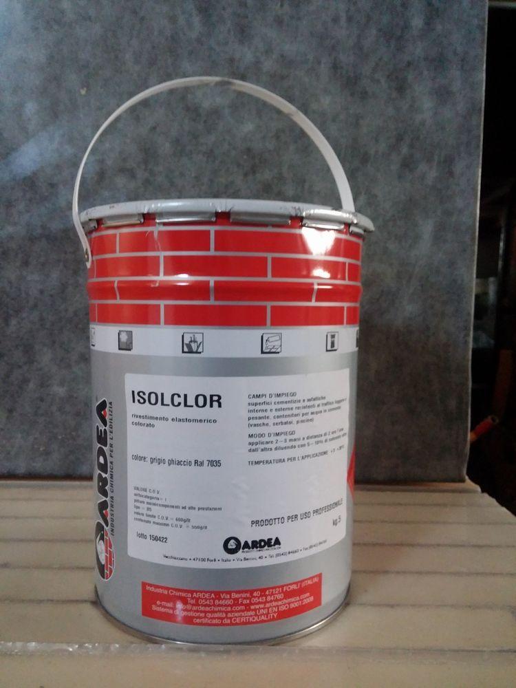 5 kg Guaina liquida pedonabile carrellabile impermeabilizzante per ...