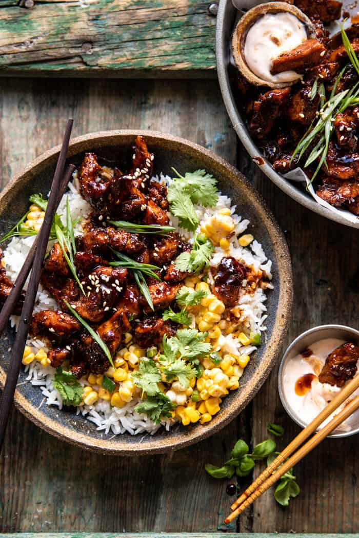 25 Minute Korean Bulgogi BBQ Chicken with Spicy Garlic ...