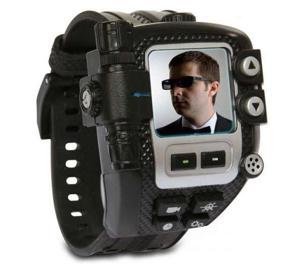 spynet mission video watch - The SpyNet Mission Video Watch is perfect for some 007 action, making you feel like action-junkie James Bond.   This neat little wrist gadget can r...