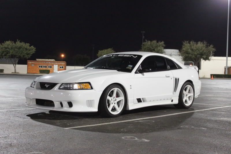 White Saleen Ford Mustang Cobra Mustang Cars Saleen Mustang