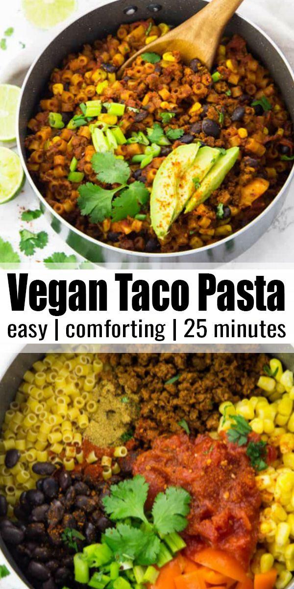 Photo of Vegan Taco Pasta