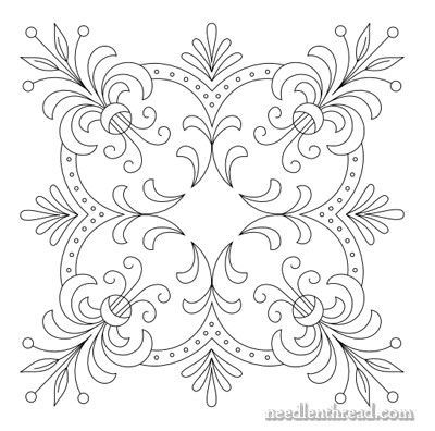 Free Hand Embroidery Pattern Perfect Pillow Top Hand Embroidery