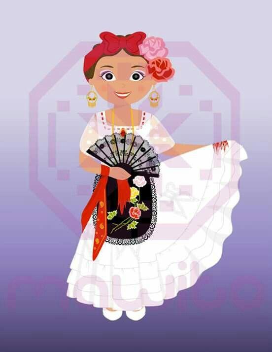 Veracruz Artesaniasmexico Trajes Tipicos De Mexico