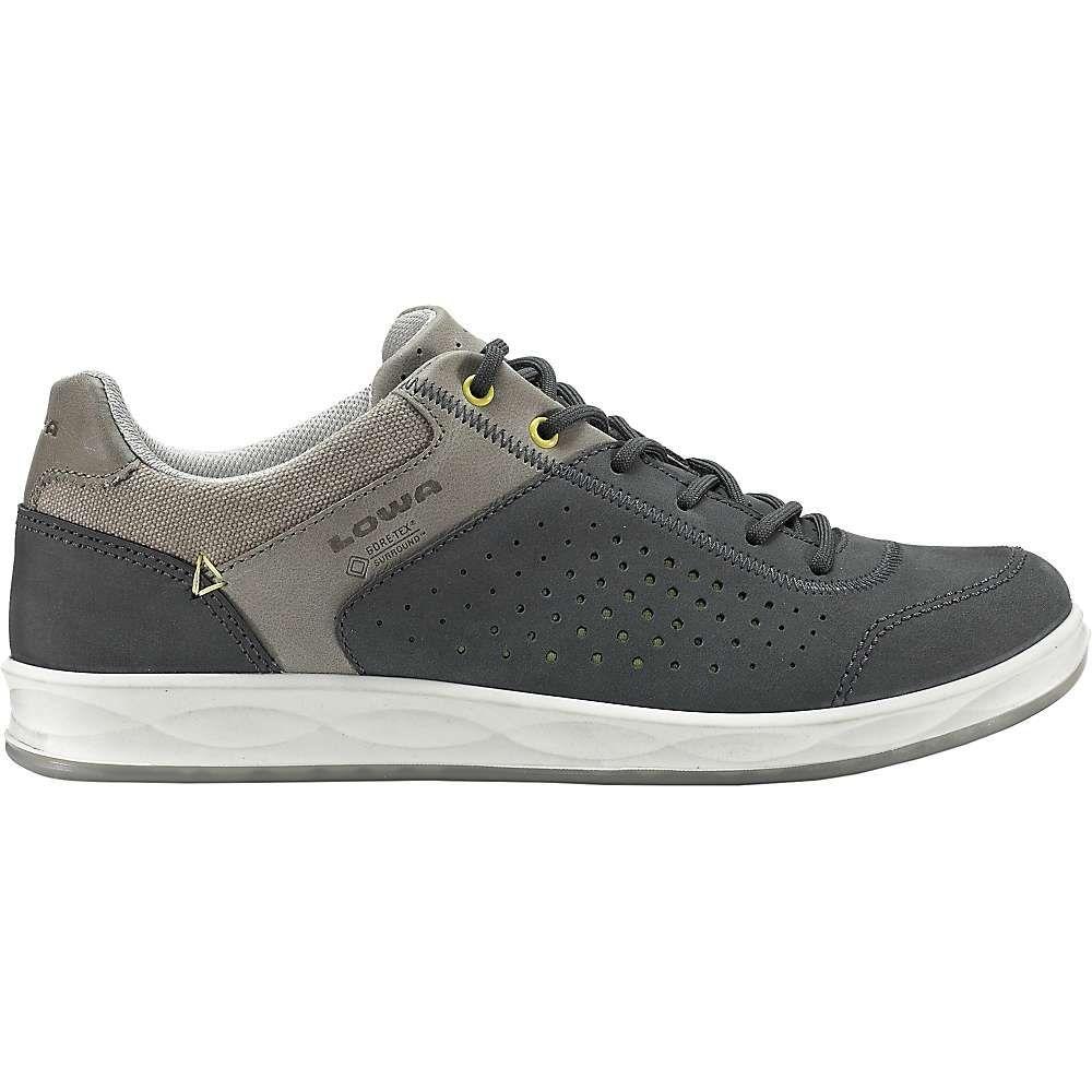 Lowa Womens San Francisco GTX Lo Surround Shoe - 9.5 - Grey / Mint
