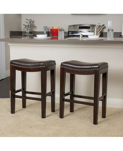 Noble House Set Of 2 Avondale Counter Stools Amp Reviews