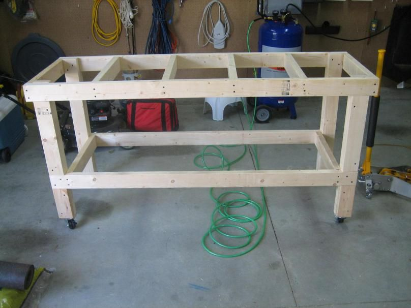 Build Your Own Workbench Kreggy Woodworking Tips