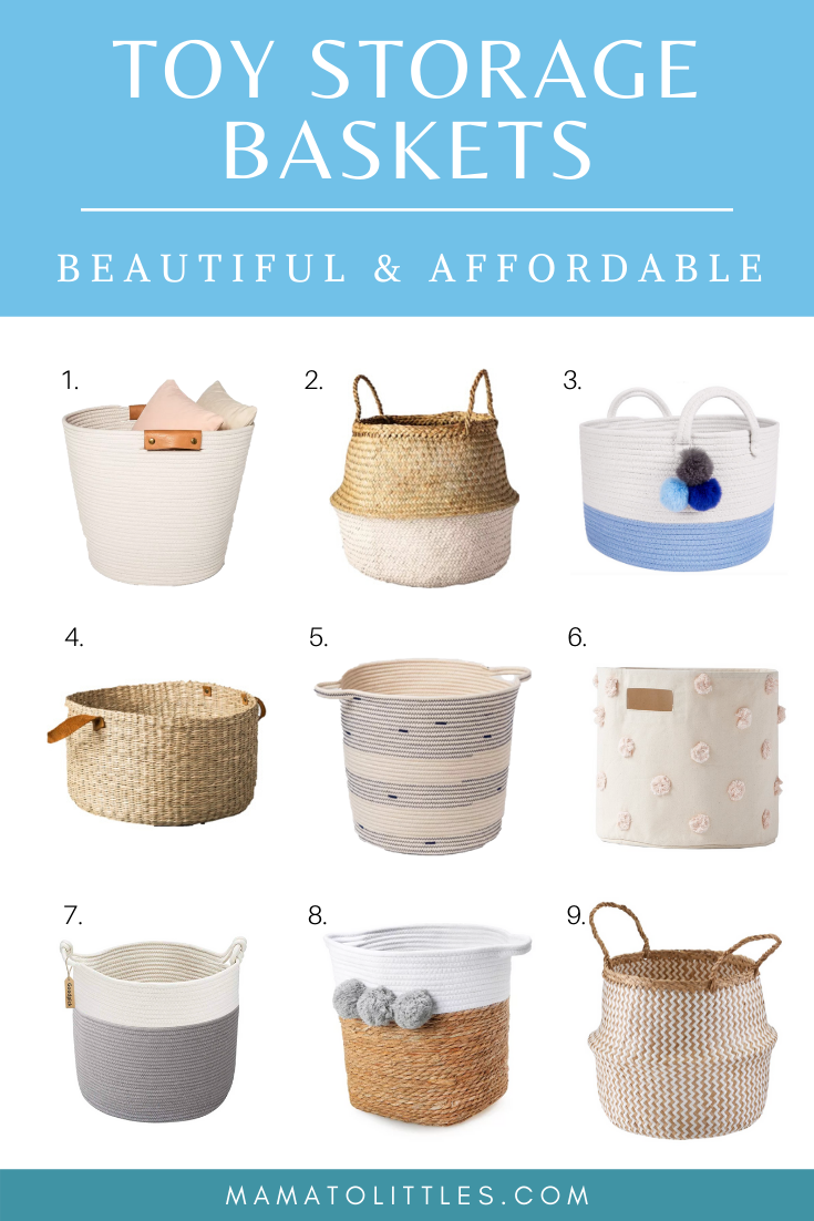 Toy Storage Baskets: Beautiful & Affordable