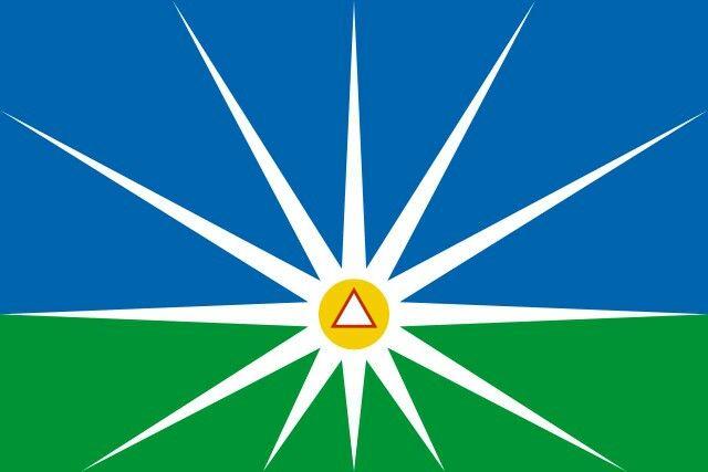 Flag Of Uberlandia Minas Gerais Brazil Uberlandia Bandeiras Minas Gerais