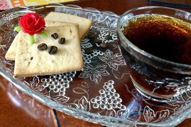 Coffee Flavored Sugar Cookies   - Cookies -