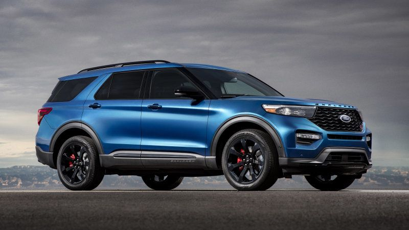 2020 Ford Explorer St With 400 Hp And Explorer Hybrid Revealed In Detroit 2020 Ford Explorer Ford Explorer Ford