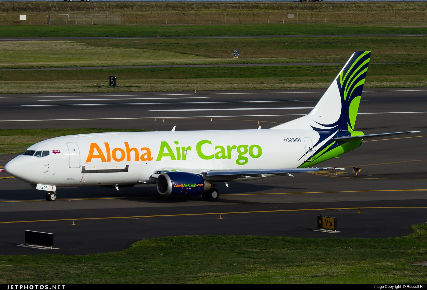 Aloha Air cargo B737 freighter