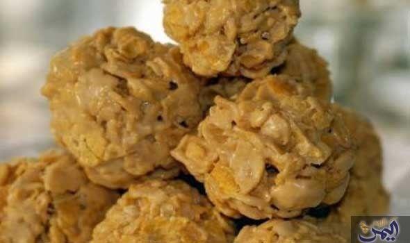 كرات الكورن فليكس بزبدة الفول السوداني Peanut Butter Marshmallow Recipes With Marshmallows Corn Flakes Peanut Butter