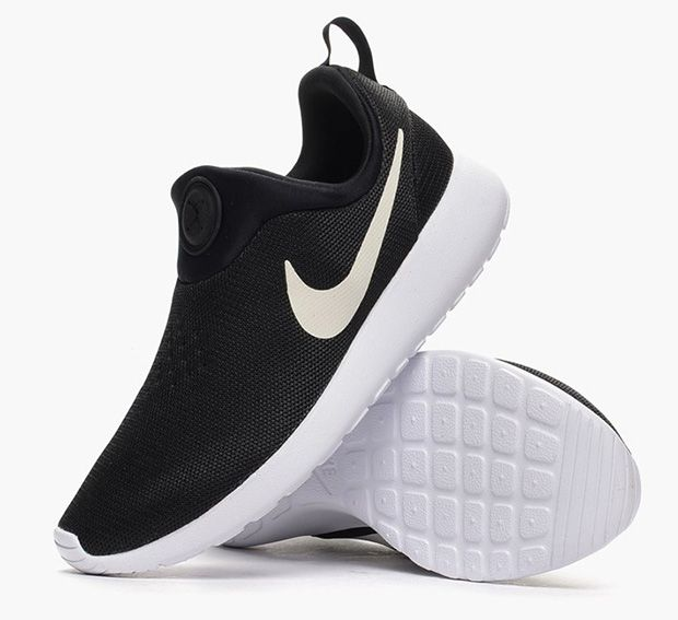 Nike Roshe Run Slip-On - Black - White