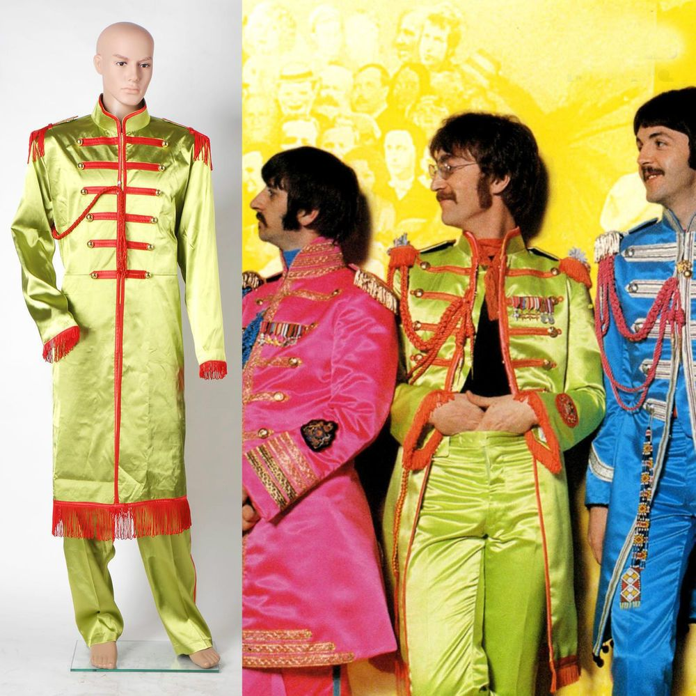 The Beatles Sgt Pepper S Lonely Hearts Club Band John Lennon Costume Tailored