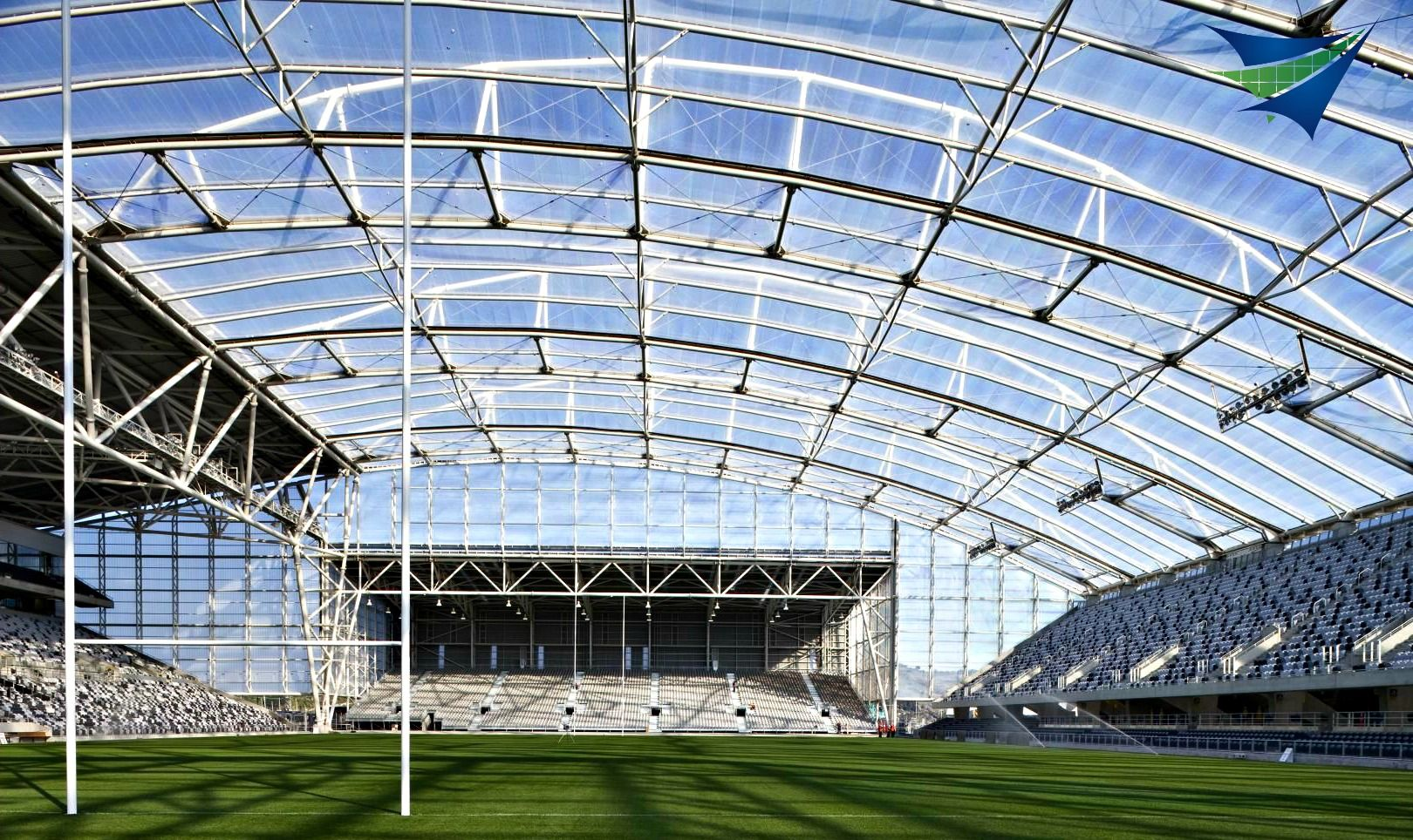 Etfe Foil Roof Systems Replace Glass And Cost Much Less
